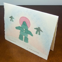 Inuit Art Card Prints